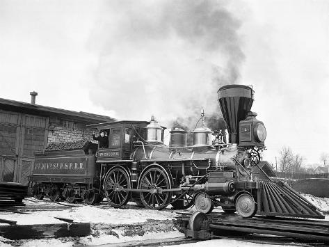 Old Time Railroads, New York, New York Photographic Print