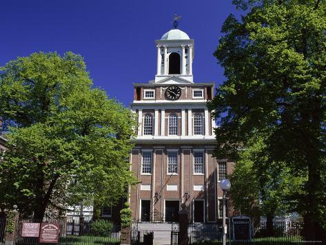 Old West Church,Boston,Massachusetts Photographic Print