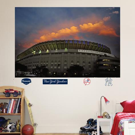 Old Yankee Stadium Façade Mural Wall Decal
