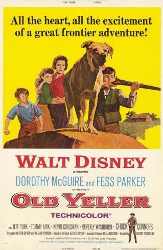 Old Yeller Masterprint