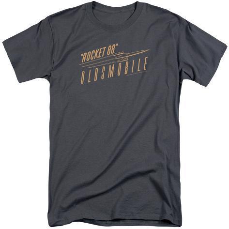 oldsmobile retro rocket 88 logo big amp tall tshirt at
