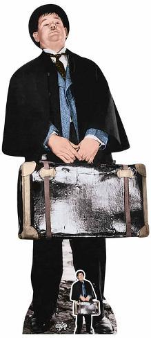 Oliver Hardy - Mini Cutout Included Cardboard Cutouts