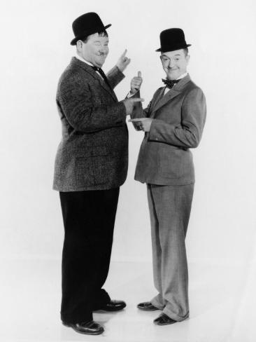 Oliver Hardy, Stan Laurel, Early 1930s Photo