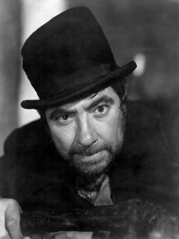 OLIVER TWIST, Robert Newton, 1948 Foto