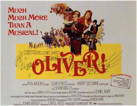 Oliver! Impressão original