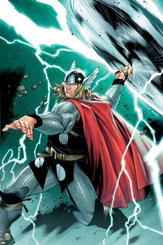 Thor No.1 Cover: Thor Poster