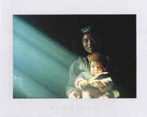 Tsering, Jeune Mere des Hautes Vallees du Zanskar Art Print
