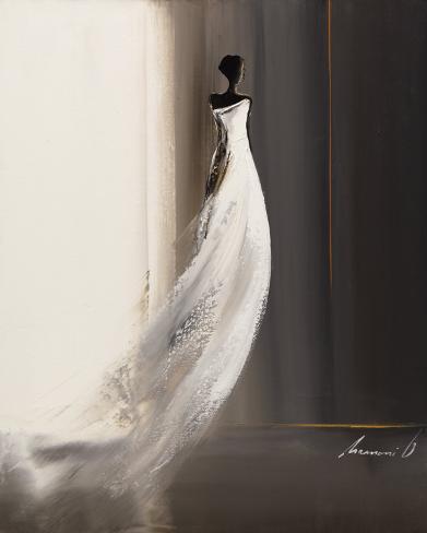 Silhouette Feminine I Art Print