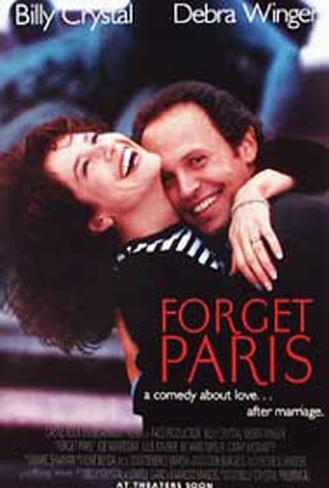 Olvídate de París Póster original