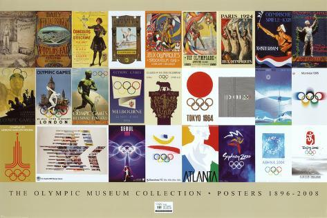Olympic Museum Collection (1816-2008) Poster