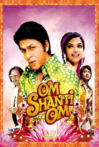 Om Shanti Om - Indian Style Poster