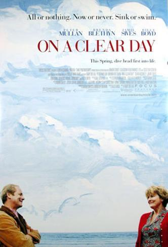 On A Clear Day Original Poster