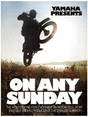 ON ANY SUNDAY, 1971. Impressão artística