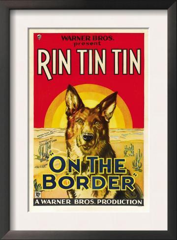 On the Border, Rin Tin Tin, 1930 Framed Art Print