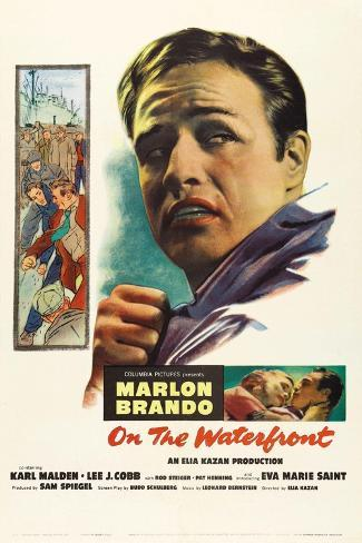 On the Waterfront, 1954 Giclee Print