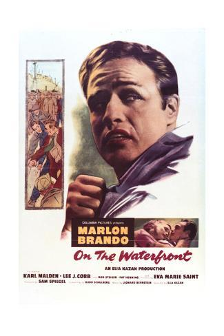 On the Waterfront - Movie Poster Reproduction Art Print