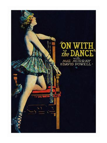 On with the Dance Art Print