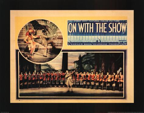On with the Show Art Print