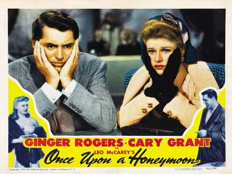 Once Upon a Honeymoon, 1942 Art Print