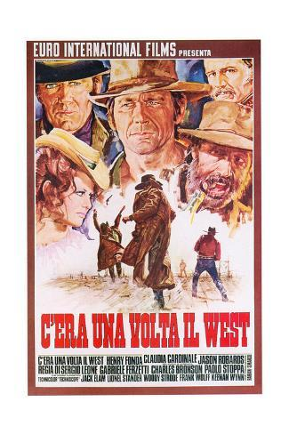 Once Upon a Time in the West, 1968 Impressão giclée