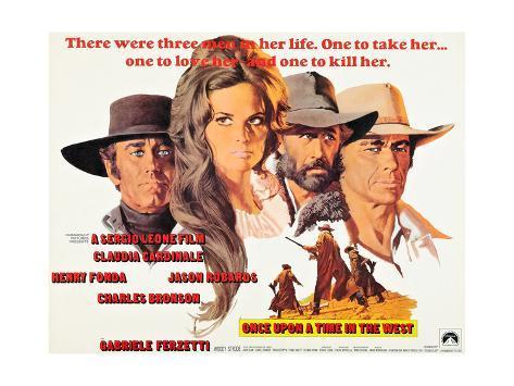 Once Upon a Time in the West, (AKA C'Era Una Volta Il West), 1968 Lámina giclée