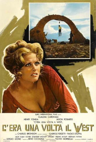 Once Upon a Time in the West - Italian Style Poster