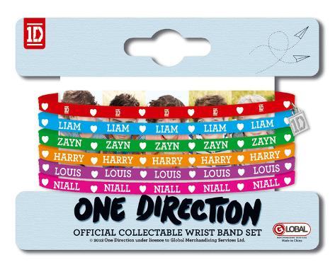 One Direction Gummy Bracelets Bracelet