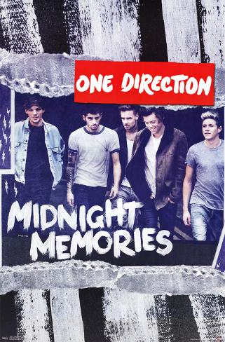 One Direction Midnight Memories Poster