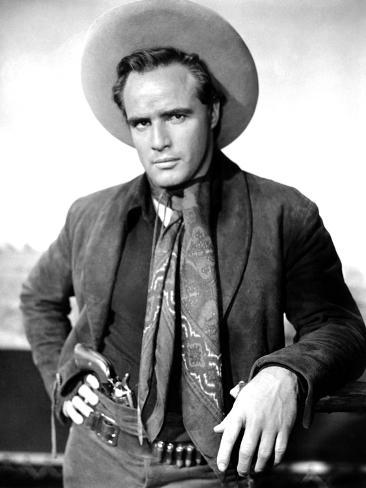 One-Eyed Jacks, Marlon Brando, 1961 Photo