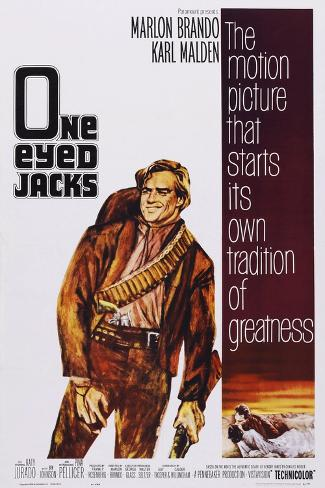 One-Eyed Jacks Konstprint