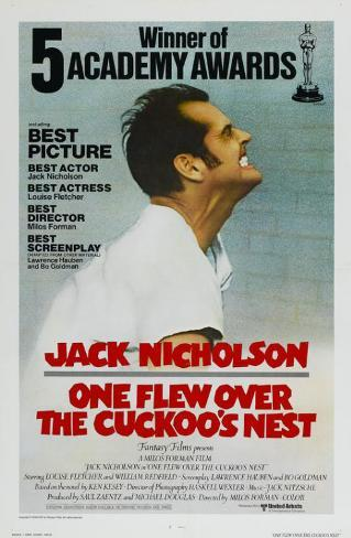 One Flew Over The Cuckoo's Nest Masterprint