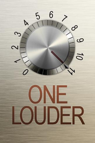 One Louder These Go to 11 ポスター