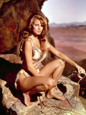 One Million Years B.C., Raquel Welch, 1966 Photo