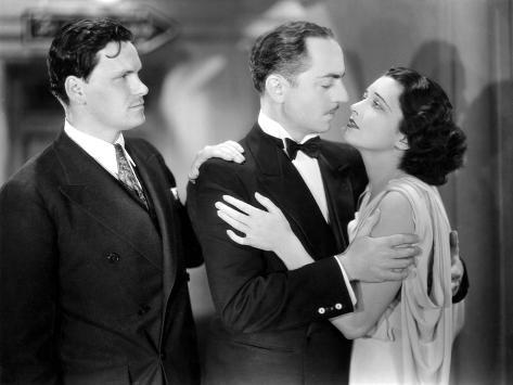 One Way Passage, Warren Hymer, William Powell, Kay Francis, 1932 Stretched Canvas Print