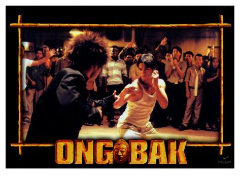 Ong-bak, French Movie Poster, 2004 Stretched Canvas Print