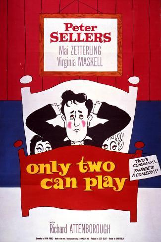 Only Two Can Play Art Print