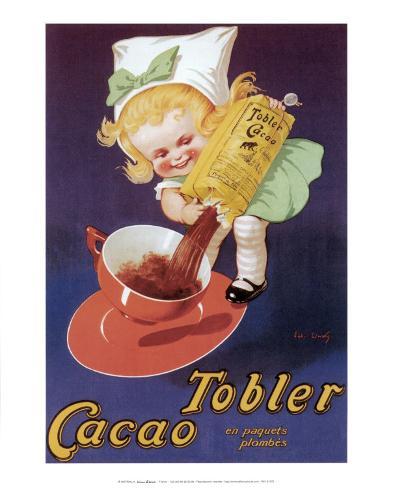 Tobler Cacao Art Print