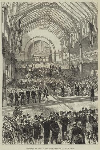 Opening of the Sydney International Exhibition, New South Wales Giclee Print
