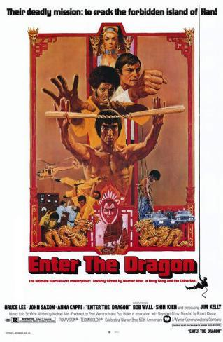 Operación Dragón|Enter the Dragon Lámina maestra