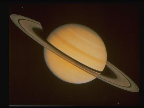 Optical Pictures Taken by Voyager 1 of Planet Saturn ...