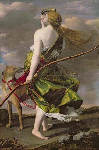 Diana the Hunter, C.1624-25 Lámina giclée