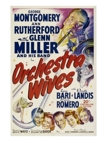 Orchestra Wives, Glen Miller, 1942 Photo