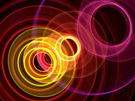 Colorful Abstract Background Photographic Print