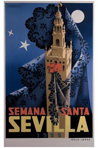 Seville Giclee Print
