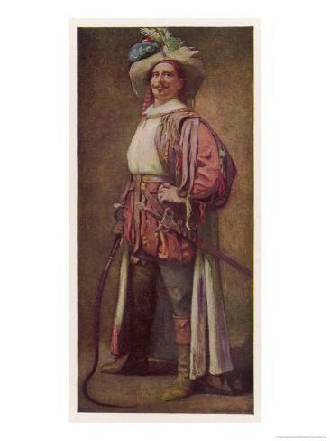 Taming of the Shrew, Edward H. Sothern as Petruchio Giclee Print