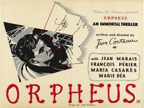 Orphee Poster