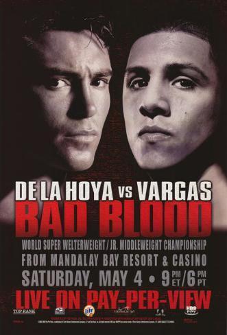 Oscar De La Hoya vs. Fernando Vargas Masterprint