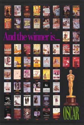 Oscar Winners 1927-1985 Poster