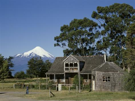 Osorno Volcano, Chile Photographic Print