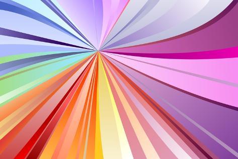 Spectrum Background Art Print